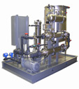 Ceramic membrane crossflow filter system