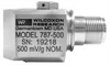 Side-exit, Low-frequency Accelerometer -- 787-500
