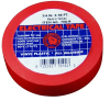 """3/4"""" X 66' RED ELECTRIC TAPE -- 70A-R -- View Larger Image"""