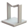 Wire Saddle - Adhesive Mount -- WWSB-3-148A-RT -- View Larger Image