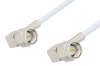 SMA Male Right Angle to SMA Male Right Angle Cable 6 Inch Length Using RG188-DS Coax -- PE3347-6 -Image