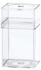 Clear Plastic Boxes with Lids -- 55342