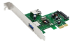 SIIG DP SuperSpeed USB 2-Port PCIe i/e -- JU-P20512-S1