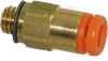 Connector, Pneumatics; 1/8 in.; 10-32 UNF; 7 mm (Hex.); 2.5 mm (Min.); 16.7 mm -- 70070325 - Image