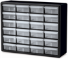 Cabinet, Plastic Storage Cabinet 24 Drawer -- 10124