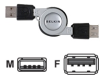 Belkin Retractable -- F3U134-2.6-RTC