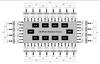 32-lane, 24-port PCIe Gen2 System Interconnect Switch -- 89H32NT24BG2ZCHL8 -- View Larger Image