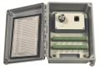 """Triax switch box with switched outputs, 10"""" x 8"""" x 6"""" NEMA 4X (IP66) fiberglass enc, 12 triax channels, terminal strip input, four-pin MIL connector output, no conn ports -- 691A80 -- View Larger Image"""