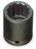 Impact Socket,,1/2 Dr,1/2 In,12 Pt -- 1AX32 - Image