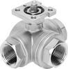 Ball valve -- VZBE-11/4-T-63-F-3T-F05-V15V15 -- View Larger Image