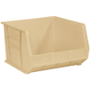 "18"" x 16 1/2"" x 11"" Ivory - Plastic Stack & Hang Bin Boxes -- BINP1816V -- View Larger Image"