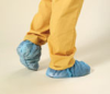 High Five Spunbond Polypropylene Shoe Covers with Tread -- sf-19-156-235 - Image