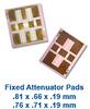 Fixed Attenuator Pads -- ATN3580-08