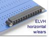 Header Terminal Block -- ELVH Series Mini Header with Locking Ears -- View Larger Image