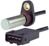 SNDH-T Series, Hall-effect quadrature speed and direction sensor, 555 mm cable with AMP 4-Pin rectangular connector, straight exit -- SNDH-T4P-G02 - Image