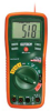 MULTIMETER, TRUE RMS DMM BUILT-IN IR THERM. LASE -- Extech Instruments Corp. EX470