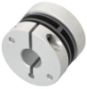 Spring disc coupling electrically isolating -- E60118