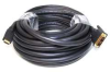 HDMI-DVI Cables,Black,25 ft.,22AWG -- 5RFG9
