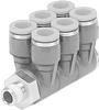 Multiple distributor -- QSLV6-1/8-4 -Image