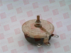 OHMITE RKS10R ( RHEOSTAT, WIREWOUND, 10 OHM, 100W, TRACK RESISTANCE:10OHM, PWR RATING:100W, PRODUCT RNG:RKS SERIES, POTENTIOMETER MOUNTING:PANEL, ADJUSTMENT TYPE:SCREWDRIVER SLOT, NO. OF TURNS:1TUR... -- View Larger Image