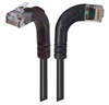 Category 6 LSZH Right Angle Patch Cable, Right Angle Right/Right Angle Up, Black, 20.0 ft -- TRD695ZRA12BLK-20 -Image