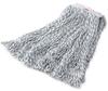 Rubbermaid® Web Foot® Finish Mop-Medium 1in White -- MF24