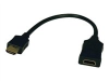 1FT HDMI-TO-HDMI M/F ACTIVE EXTENDER CABLE -- B123-001