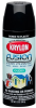 Krylon Fusion For Plastic 24217 Black Satin Paint - 16 oz Aerosol Can - 12 oz Net Weight - 02421 -- 724504-02421