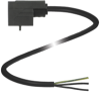 Valve Connector Cordset -- VMA-2+P/Z2-1M-PUR