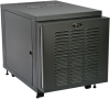 SmartRack 12U IP54 Server-Depth Rack Enclosure Cabinet for Harsh Environments, 230V -- SRX12UBFFD - Image