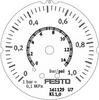 Flanged precision pressure gauge -- FMAP-63-1-1/4-EN - Image