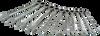 11 Pieces Metric Combination Flex Head -- 59811A - Image