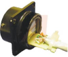 connector,metal circ,panel mount recept,blk shell,w/.3meter rj45 cable assembly -- 70026674