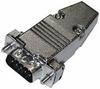DSUB 9 Pin (m), Metal Hd, Sldr (CD-9709M, CD-9709HM) -- CD-DB9M