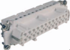 48 Pole with Ground Industrial Rectangular Connectors Female Insert -- 29028
