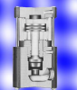 Series BAT Double-Acting, Air-Operated Valve -- BAT100B-PV