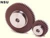 Plastic Spur Gear w/ Steel Core -- NSU2.5-35