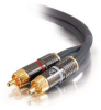 1.5ft SonicWave® Dual Channel RCA Stereo Audio Cable -- 2205-40081-002