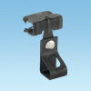 Supports and Fasteners : Beam/Purlin : Hammer-On Beam Clamps with Rod Hanger -- P4TI24