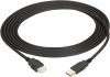 USB 2.0 Extension Cable Type A Male to Type A Female Black 10-ft. -- USB05E-0010