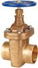 Gate Valve – Bronze, Non-rising Stem, Bolted Bonnet, Threaded -- S-136 Large Diameter - Image