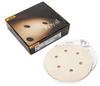 MIRKA Royal 6 In. 6 Hole Grip Vacuum Disc P400 -- Model# 25-624-400