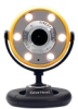 Gear Head Quick WebCam with Night Vision WC1400YLW -- WC1400YLW