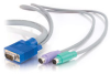 15ft 3-in-1 VGA + PS/2 KVM Cable -- 2303-21958-015 -- View Larger Image