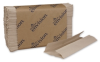 Envision® C-Fold Brown Paper Towels - Image