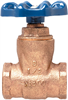 Gate Valve – Bronze, Full Port, Compact Design, Threaded Ends -- T-29 - Image