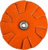 Norton Blaze CA Coarse Grit Overlap Slotted Disc -- 66261195054 - Image