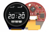 "1.3"" pixxiLCD Series Round Intelligent Display Module with PIXXI-28 Graphics Controller -- pixxiLCD-13P2 - Image"