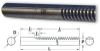 Round Gear Racks (metric) -- S181YYM0808200 -Image