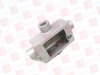 "HUBBELL FSX-1 ( 1/2"" K ALUM SHALLW DEVICE BOX TYPE FSX ) -Image"